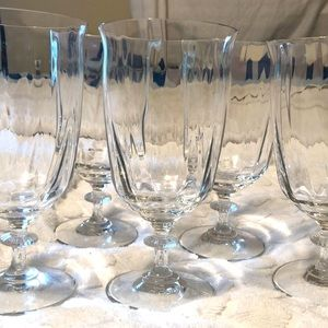 Southern Living Crystal Gallery Iced Tea Goblet 10